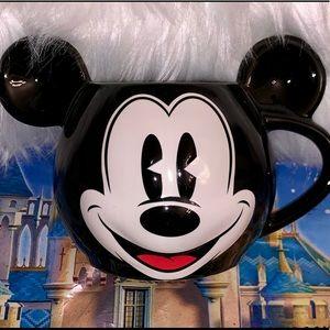 Disney Mickey Mouse Shaped Coffee Mug
